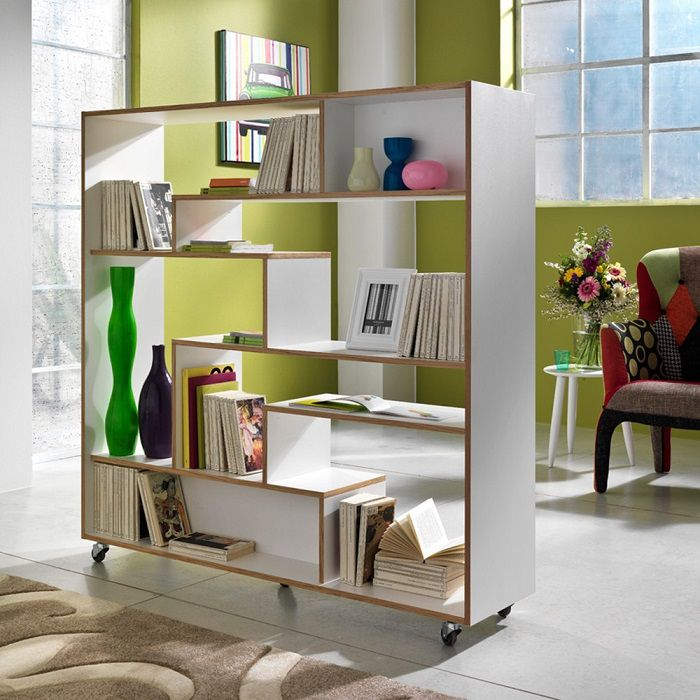 libreria con ruote moving
