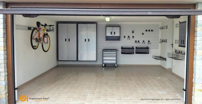 Giugno il mese del garage ecco come organizzarlo for Arredamento per garage