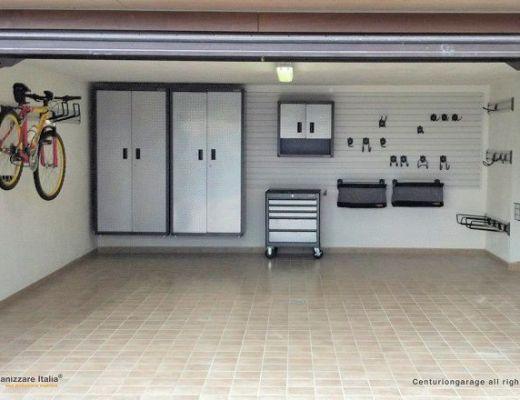 progetto organizzare garage
