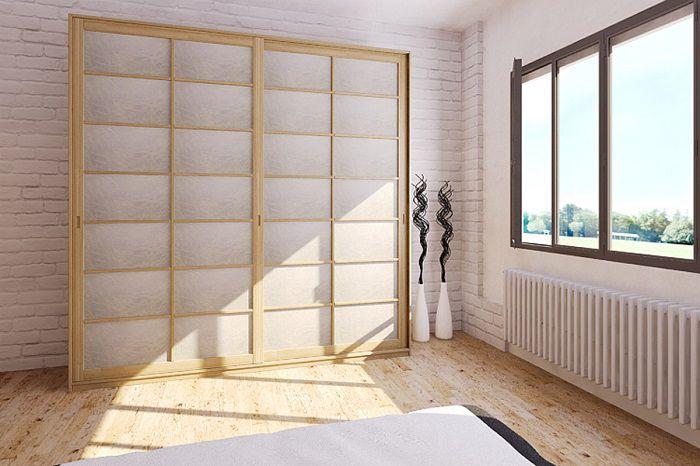 Come arredare una casa piccola in stile giapponese - Porte scorrevoli stile giapponese ...