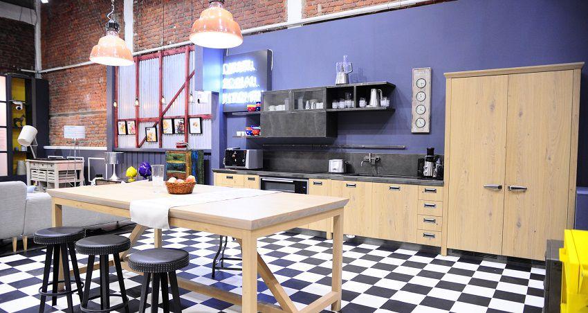 Cucina loft Hell's Kitchen Italia Scavolini Diesel