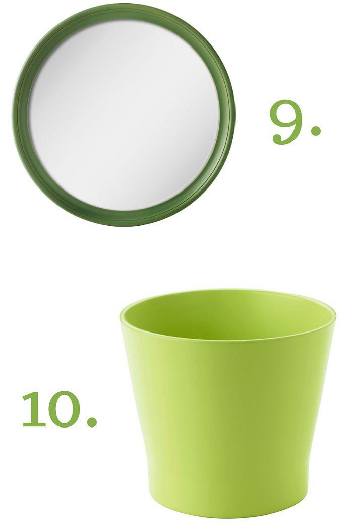 Specchio STABEKK Portavasi PAPAJA IKEA