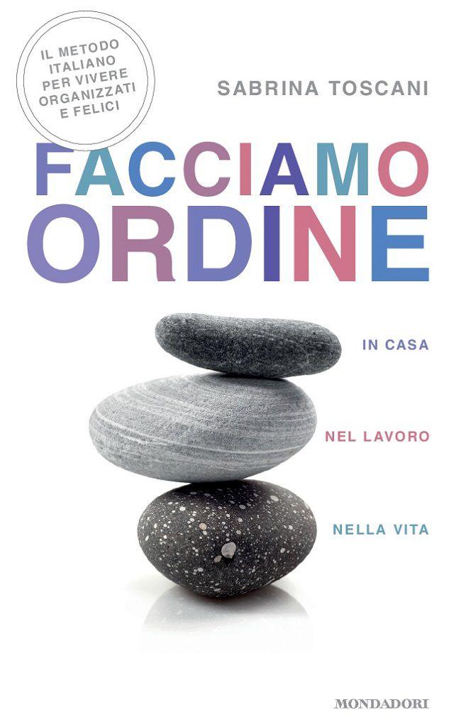 """""""Facciamo ordine"""", la copertina del libro di Sabrina Toscani"""