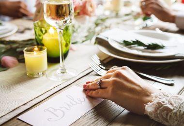 Ricevimento di matrimonio a casa