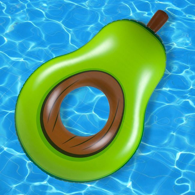 materassino forma avocado