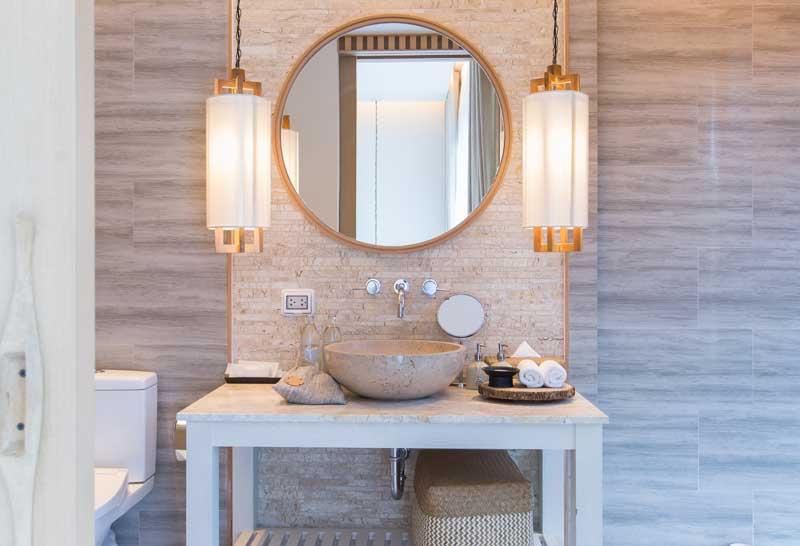 design bagno illuminazione