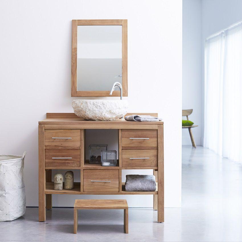 arredare bagno mobili legno