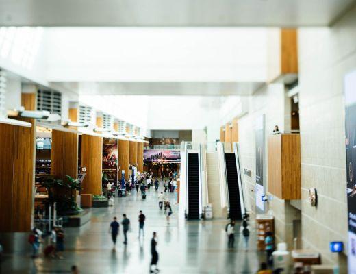 arredamento aeroporto contract