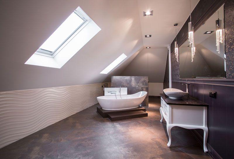 mobili bagno sottotetto casa