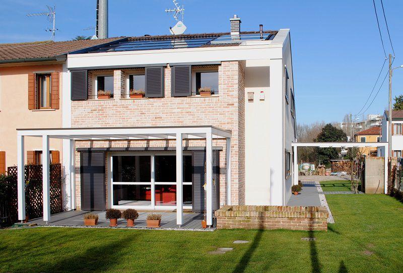 Ampliamenti case legno e mattoni Spazio Positivo