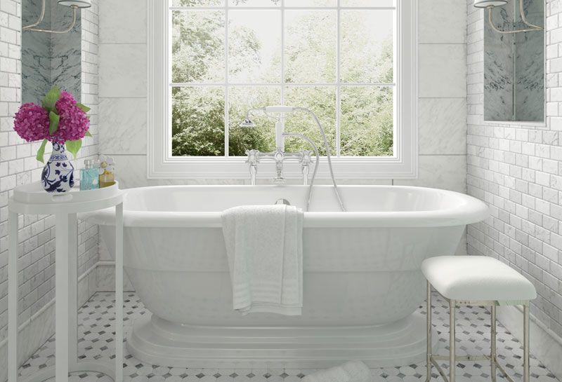 Elementi unici per un arredamento bagno in stile vintage for Elementi bagno