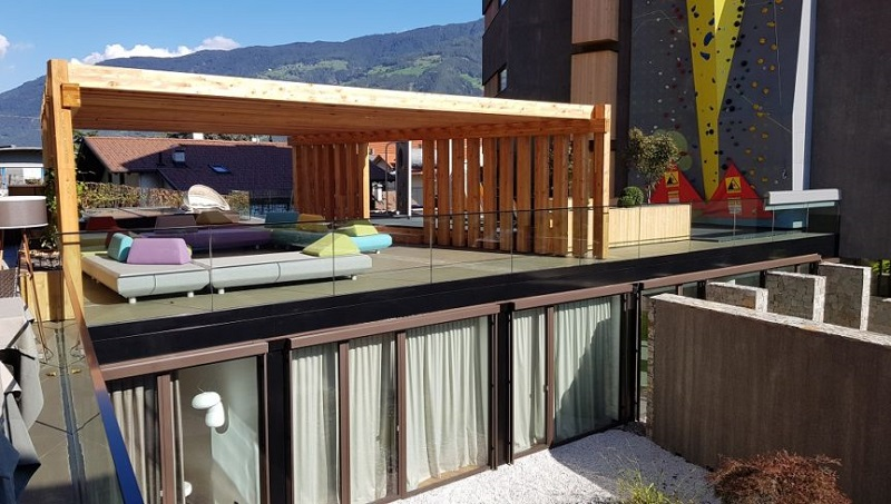 Arredi outdoor Varaschin per il Resort Lindenhof