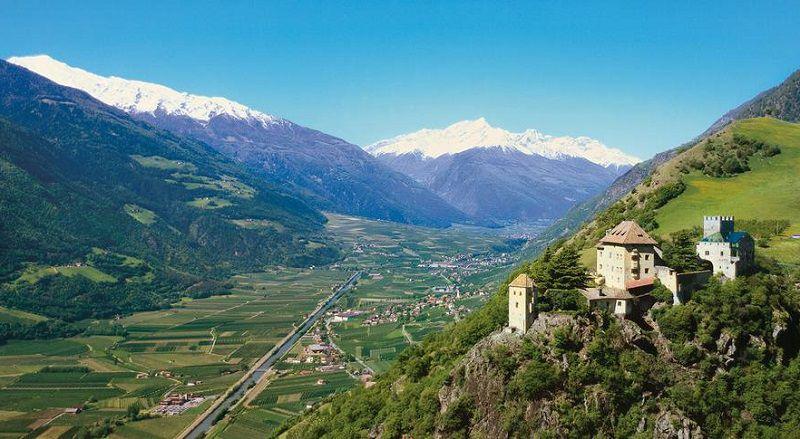 Castel Juval a Naturno