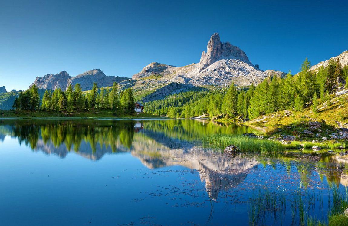 Dove cielo, laghi e Alpi si incontrano