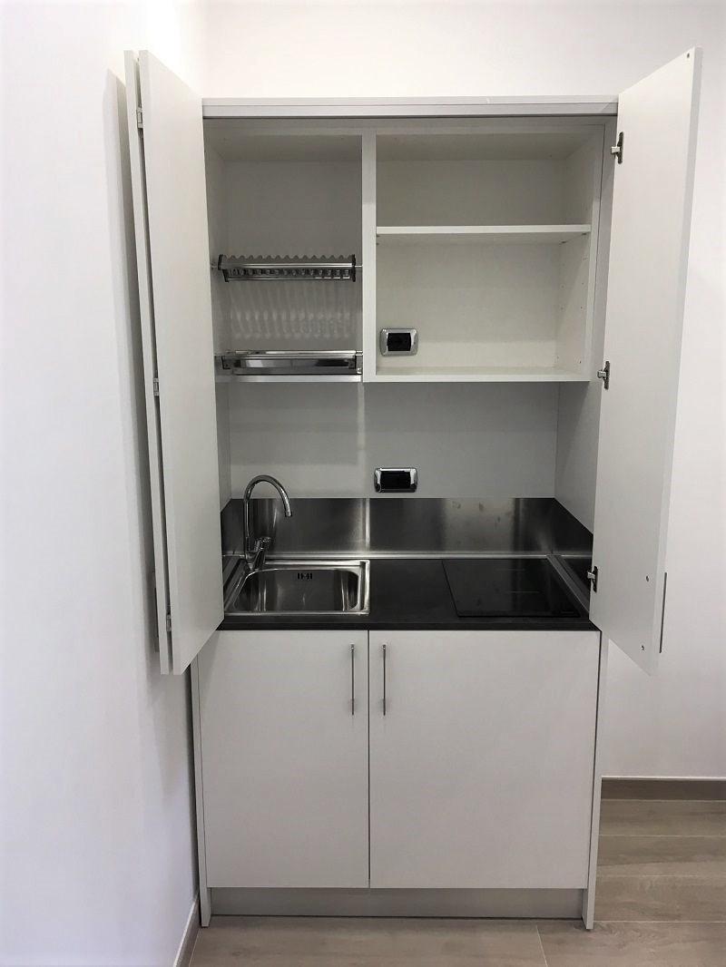 Minicucine e cucine a scomparsa: ideali anche per spazi piccoli