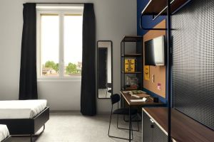Twin - The Student Hotel Florence