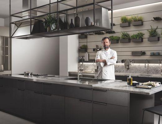 Cucina Mia by Chef Carlo Cracco Scavolini 2019