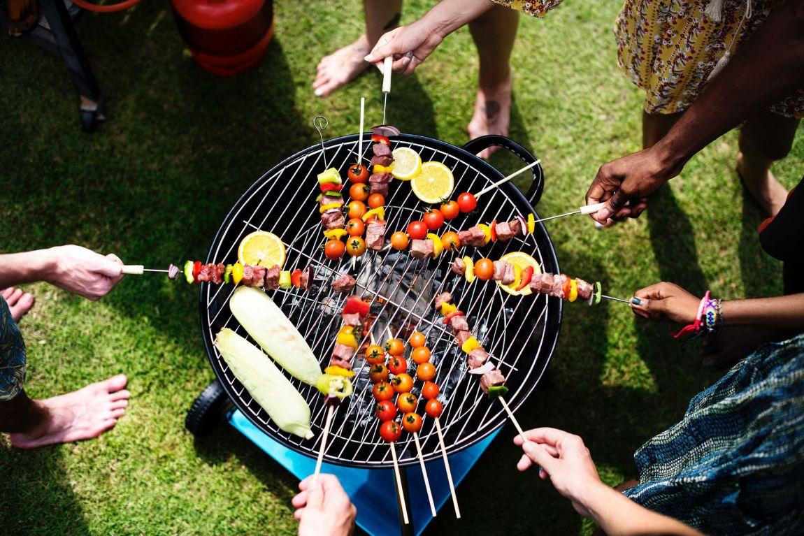 barbecue vita aria aperta