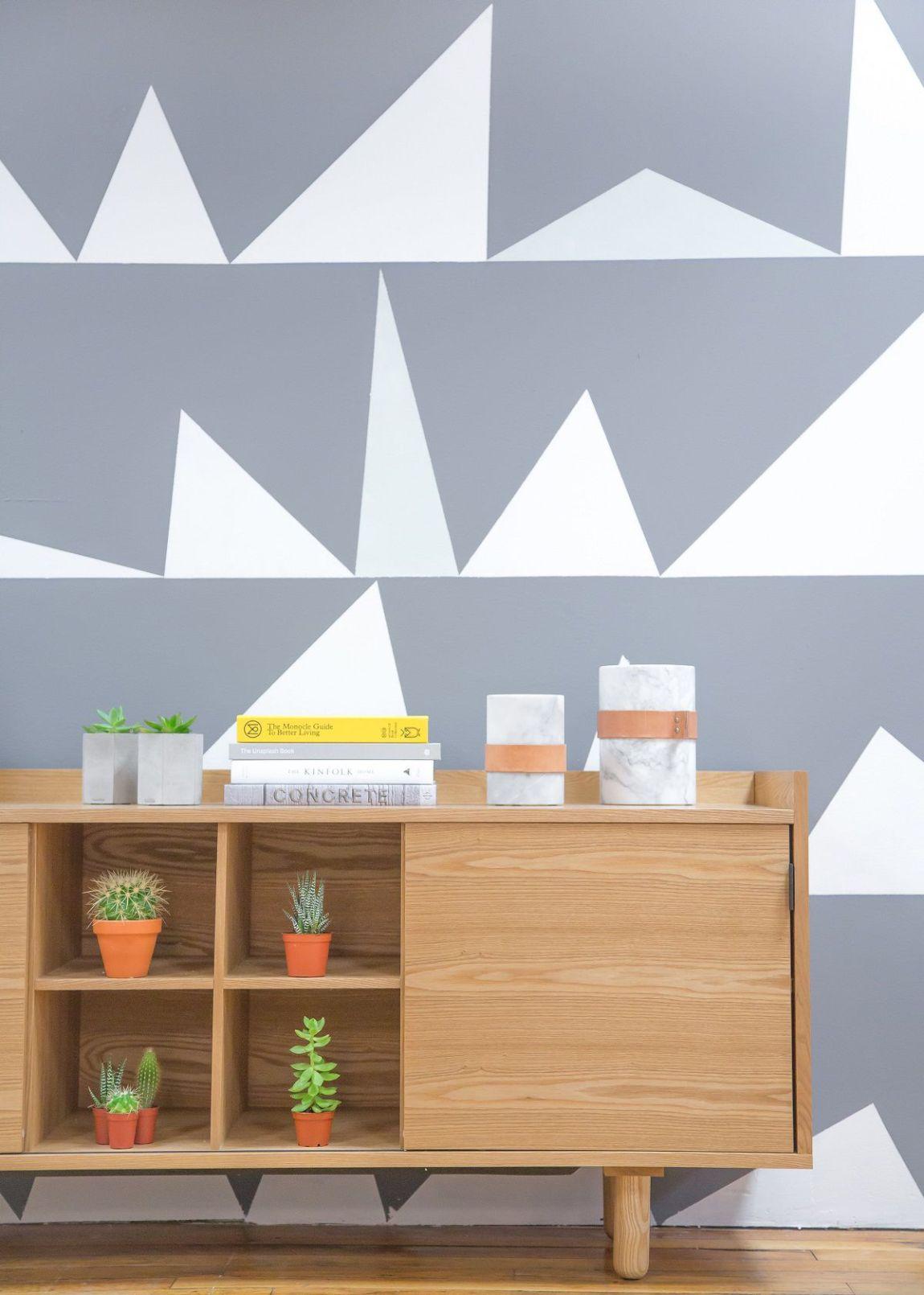tendenze geometria casa arredamento