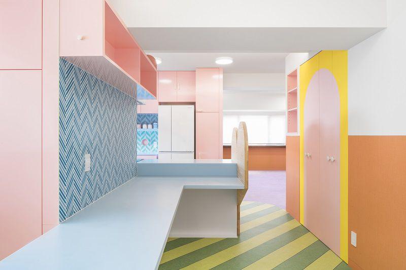 appartamento pastello tokyo furman hi-macs cucina 2
