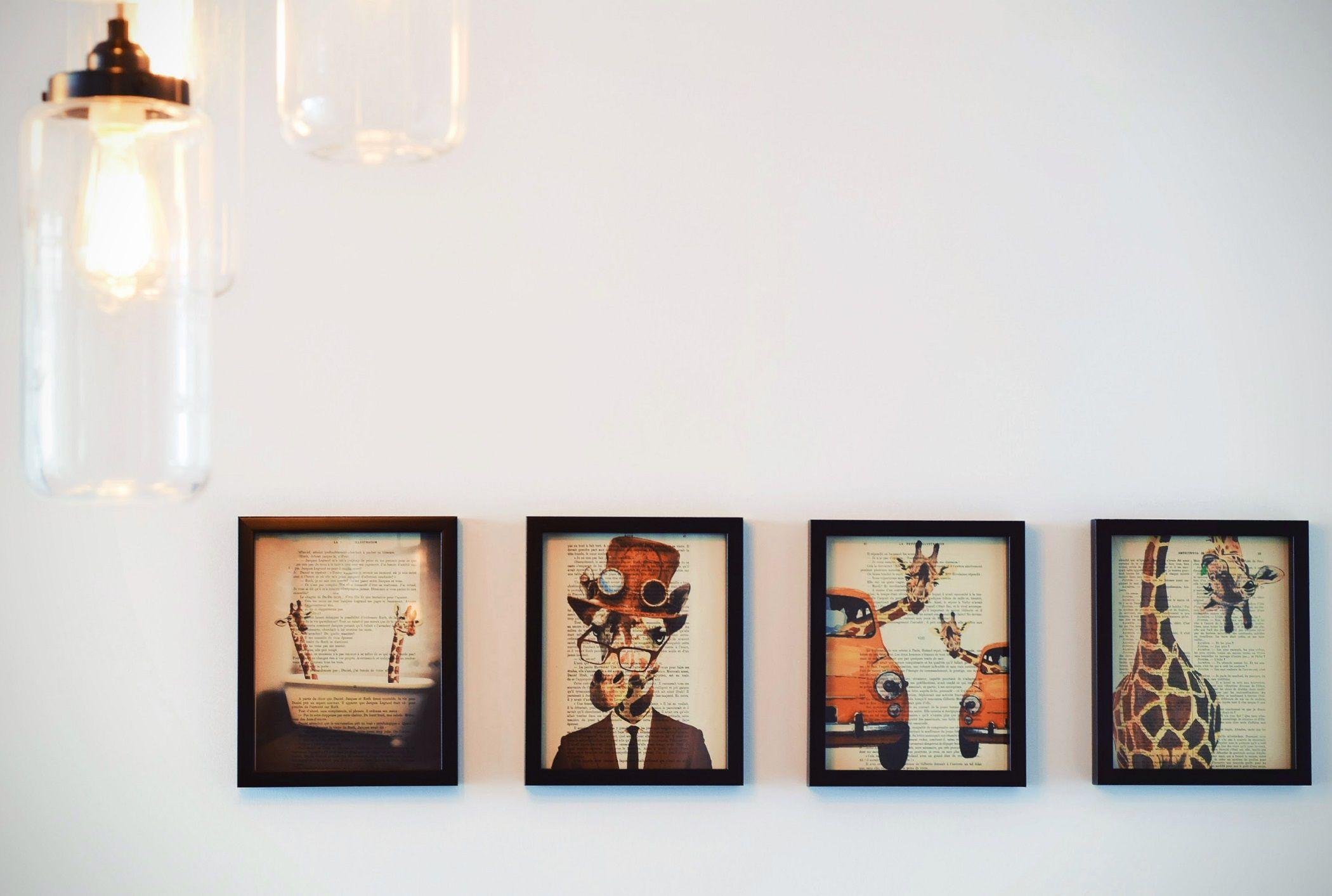 Appendere Quadri Su Scale come appendere i quadri e le foto alle pareti nel modo giusto
