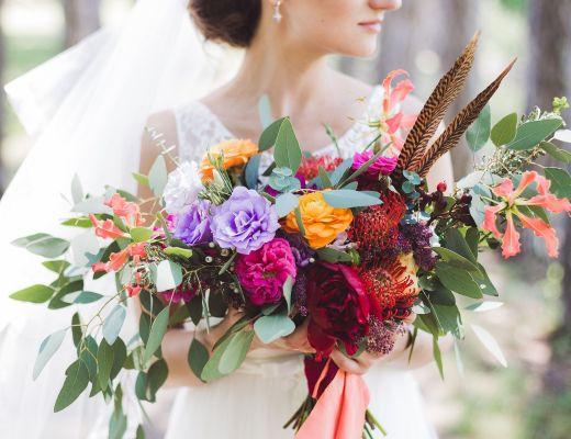 bouquet sposa in stile boho