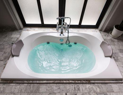 Vasca idromassaggio bagno