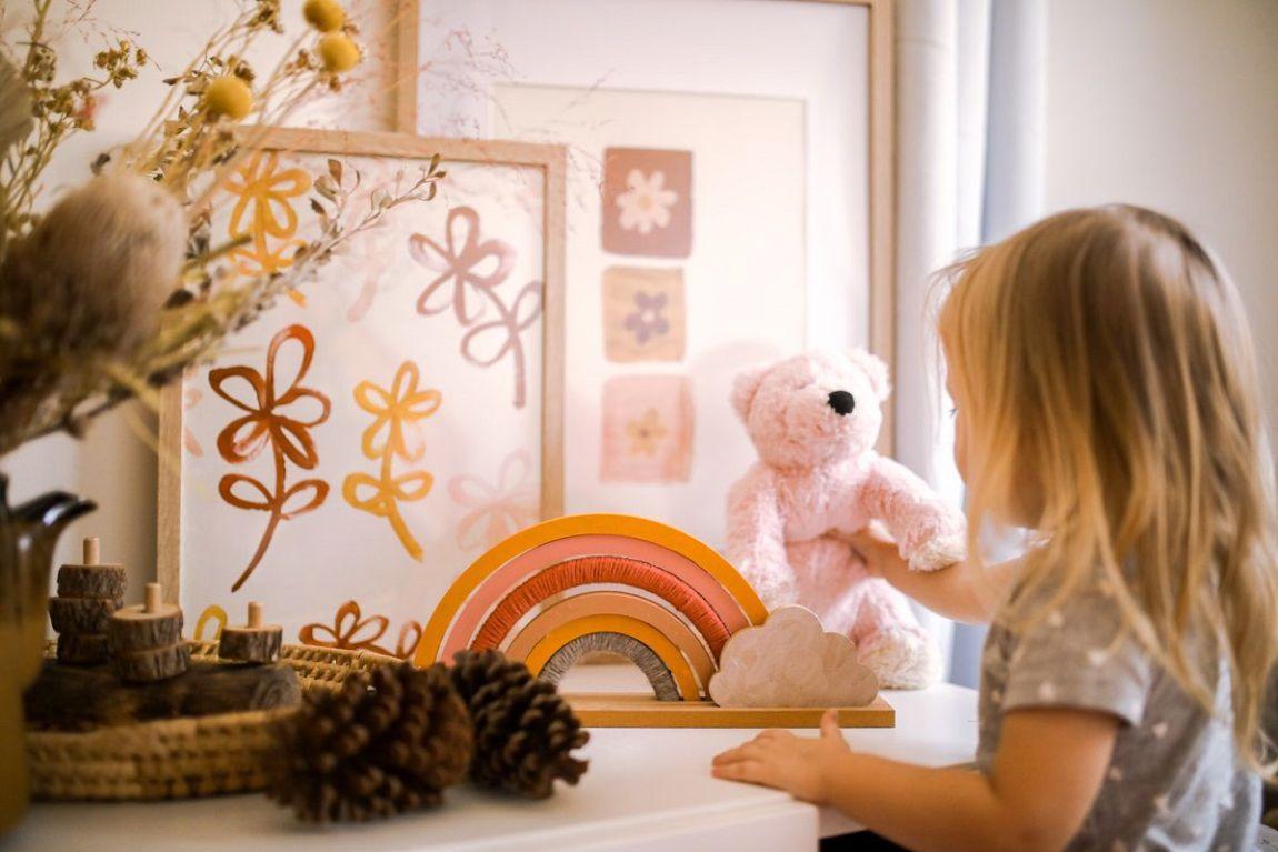 organizzare cameretta bambini letti spazi
