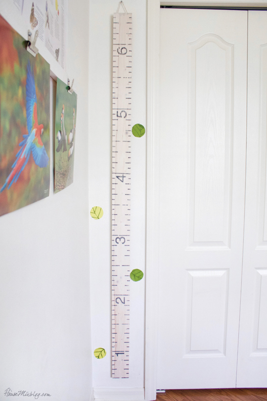 Free Height Wall Printable Chart