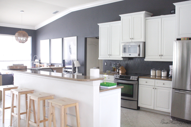 Design Ideas Fabulous Grey Kitchen Wall Color Ideas 48 Wtsenates