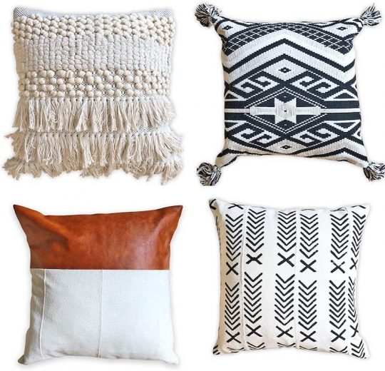 affordable boho pillow roundup house mix