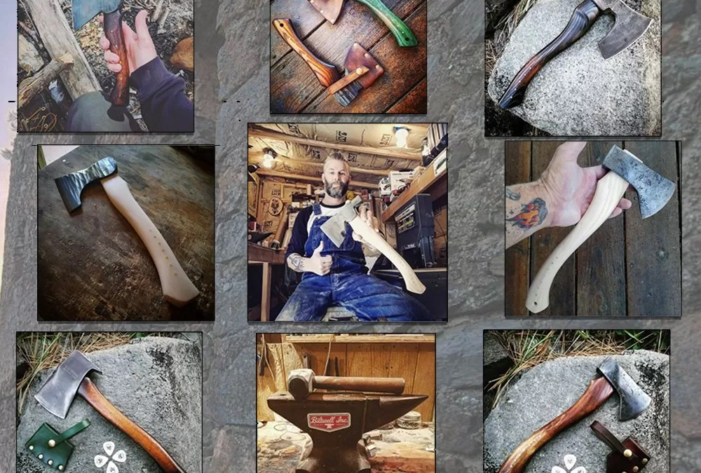 9 Axes Handmade for Hewing