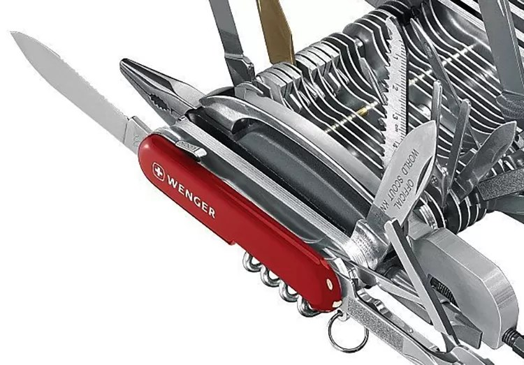 This epic multi-tool has everything but a Neuralizer and an Electronic Thumb - it's better than Dr. Who's screwdriver.