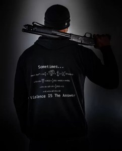 tactical shirts - sometimes violence is the answer