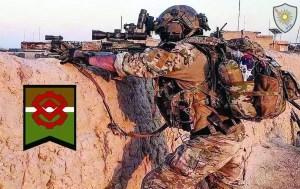 Kinetic Development Group MREX AR rail in military use downrange.