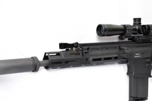 FN SCAR accessories like the MREX Mk. II are available from Kinetic Development Group.