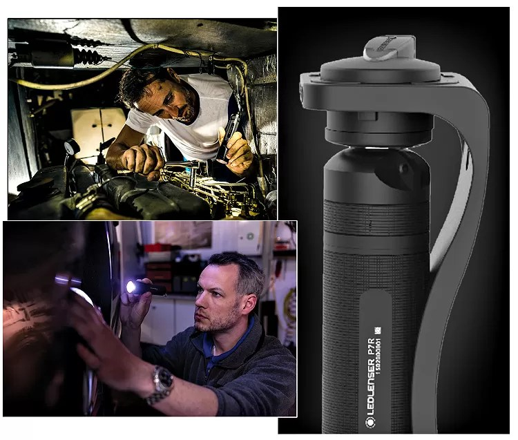Ledlenser flashlight multipurpose