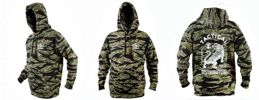 Another tiger stripe hoodie option. This one is from Tactical Distributors.