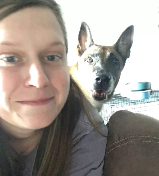 Hiking with your dog: Ashley and Marco