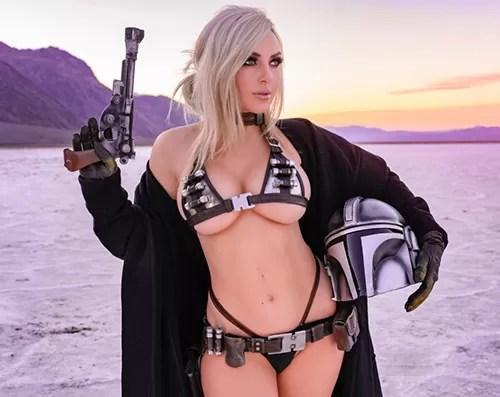 A sexy Mandalorian by Jessica Nigri