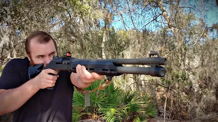 Cryptid Hunters use Benelli M4