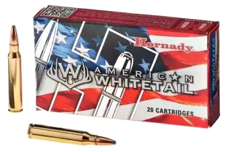 Hornady American Whitetail ammunition for cryptid hunters.