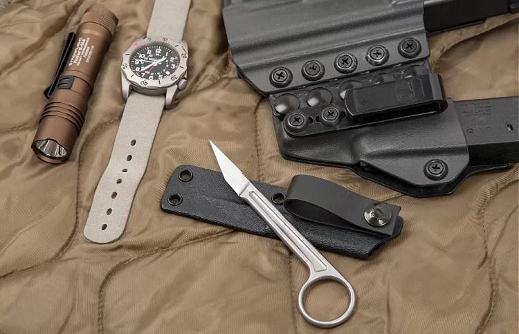 Bastinelli PiKa knife, gun, edc.