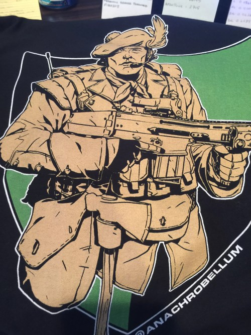 Army Ranger shirt: Rogers Rangers