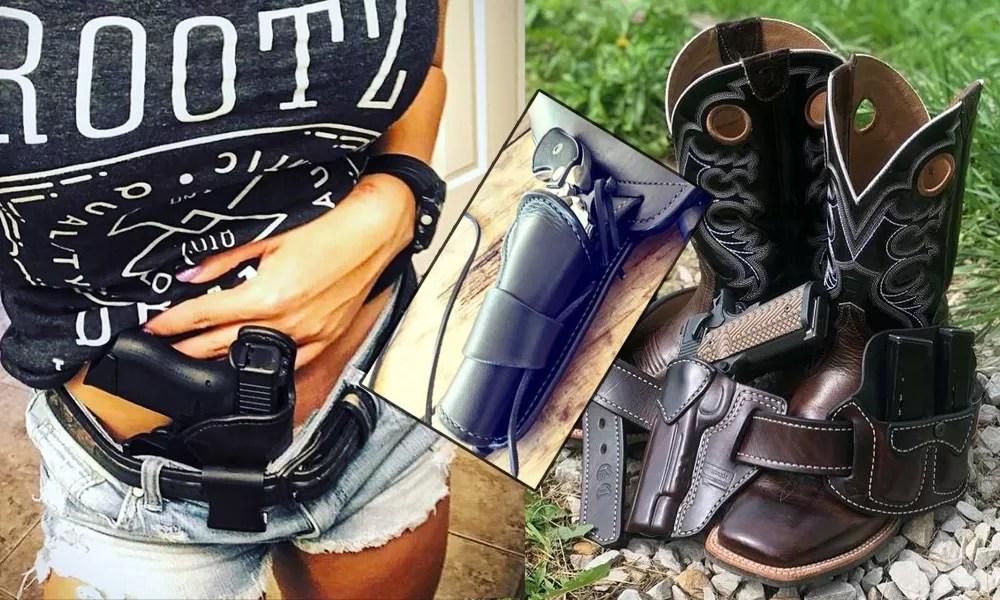 3 Bespoke Holster Makers | a Gunleather Threeway