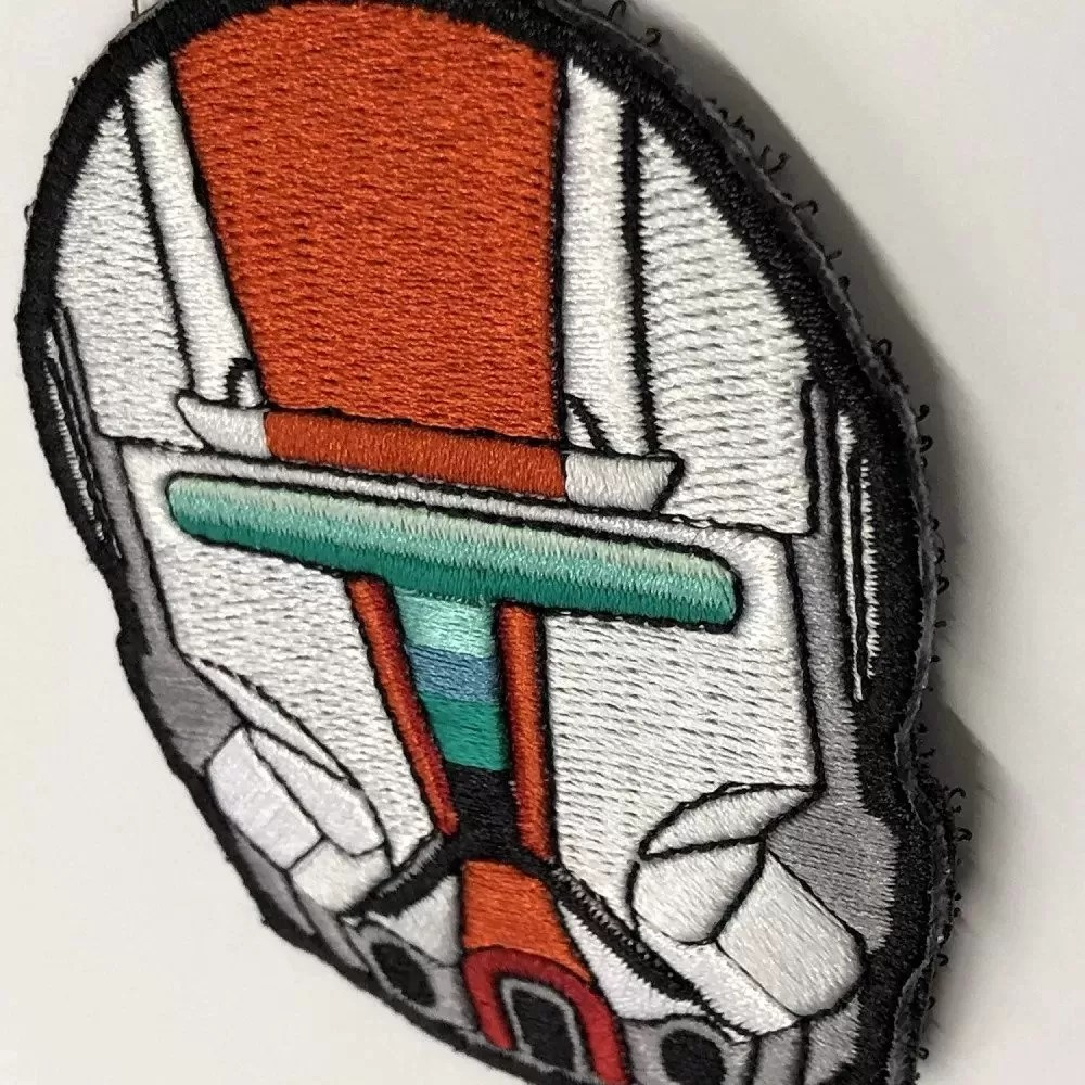 Embroidered star wars patches