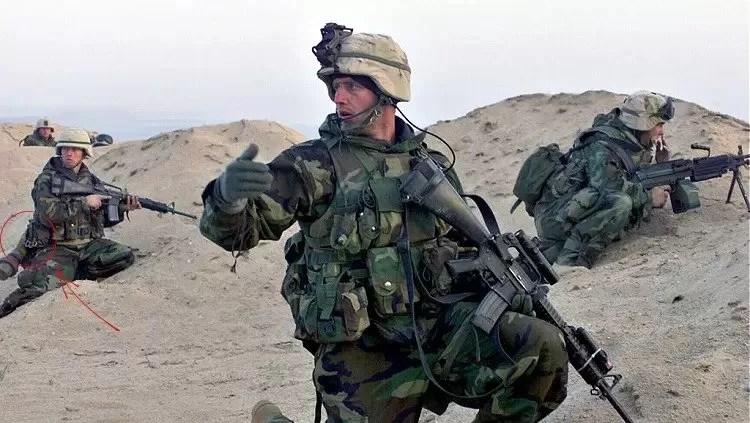 Iraq Invasion - brass knuckles.