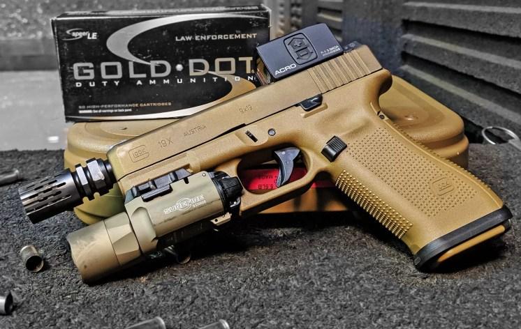 Custom Glock 19X by Frank Woods (Ser Plissken).