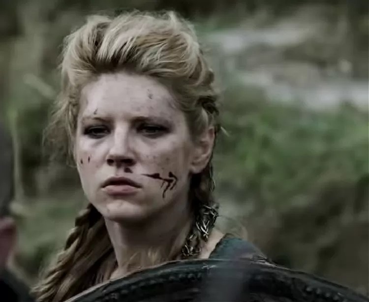 The Shield Maiden Lagertha, from History Channel's series Vikings.