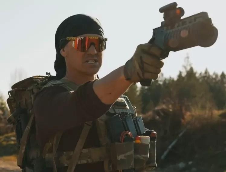 pistol grenade launcher (via Garand Thumb)